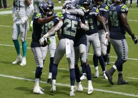 Travis Homer caps Seahawks' two-minute drill with TD grab before half