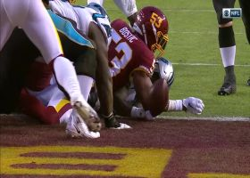 Mike Davis steamrolls across the goal line on fourth-down TD