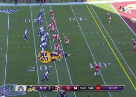 Dee Ford beats Vikes for red-zone sack on third down in return to action