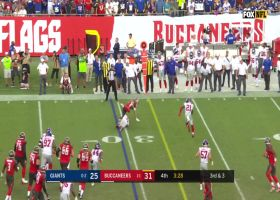 Giants' defense puts stop to Bucs' third-down attempt