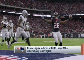 Pelissero: Patriots, Lamar Miller agree to one-year deal pending physical