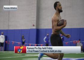 RB Pooka Williams Jr. runs speedy 40-yard dash at Kansas pro day