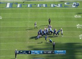 Cody Parkey drills a 45-yard FG to put Titans on board first