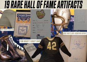 19 awesome artifacts in the Hall of Fame vault | NFL Throwback