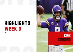 Kirk Cousins' best throws vs. the Titans | Week 3