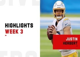 Justin Herbert's best plays vs. Panthers | Week 3