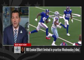 Rapoport offers injury updates on Ezekiel Elliott, Trevon Diggs for Week 6