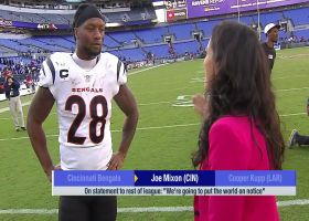 Joe Mixon: Bengals are 'going to put the world on notice'
