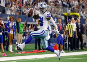 Clever play design leads to Ezekiel Elliott high-stepping in for TD