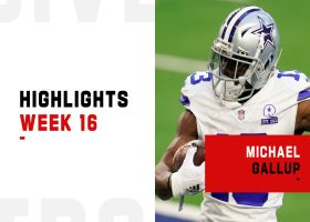 Every Michael Gallup catch from 121-yard game | Week 16