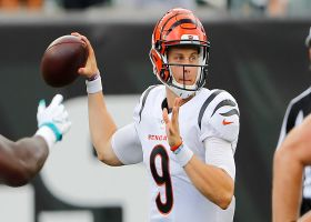 Joe Burrow's only pass of the preseason is dropped by Ja'Marr Chase