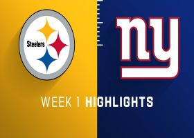 Steelers vs. Giants highlights | Week 1