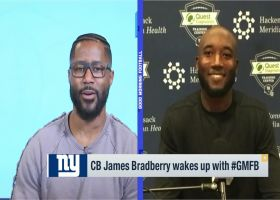 James Bradberry: 'I don't want to put expectations' on Barkley's return