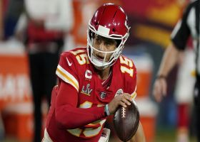 Palmer: Chiefs won't limit how Mahomes plays outside of pocket due to injuries sustained in '20