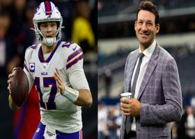 Giardi: How Josh Allen is using Romo's advice in offseason training
