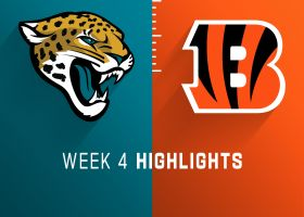 Jaguars vs. Bengals highlights | Week 4
