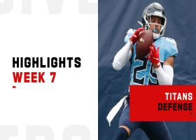 Best plays from Titans' strong defensive effort | Week 7