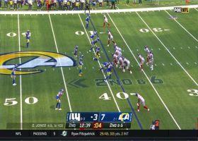 Rams sack Daniel Jones on consecutive snaps for big losses