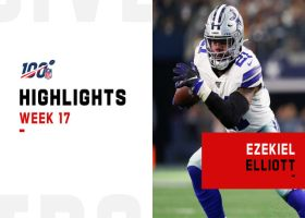 Ezekiel Elliott's best plays against the Redskins | Week 17