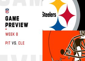 Steelers vs. Browns preview | Week 8
