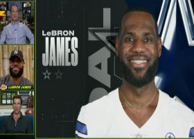 Best of LeBron James with Manning bros on 'MNF' | Week 3