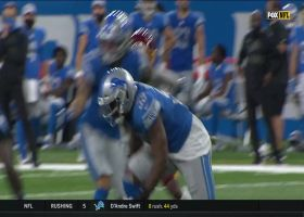 Lions take over after McLaurin's fumble over the middle
