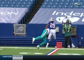 DeVante Parker elevates over Josh Norman for unreal 25-yard toe-tapping grab