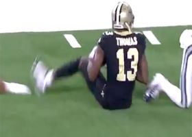 Michael Thomas saves potential turnover after Dan Arnold fumble