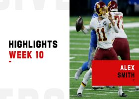 Alex Smith's best throws from 390-yard start vs. Lions | Week 10