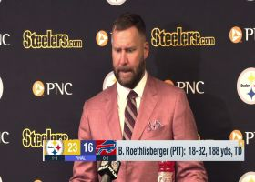 Roethlisberger on Week 1 win over Bills: 'This was a team win'