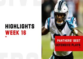Panthers' best defensive plays from 4-turnover win | Week 16