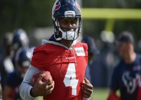 Pelissero: Watson is taking scout team reps at Texans training camp
