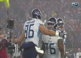 Tannehill finds Firkser to cap Titans' 12-play opening drive with TD