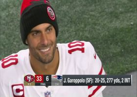 Garoppolo reflects on playing in Gillette Stadium again