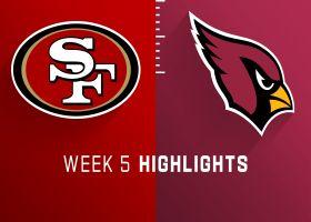 49ers vs. Cardinals highlights   Week 5