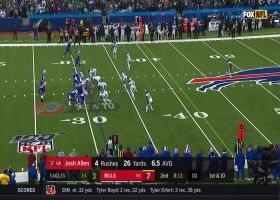 Josh Allen rips sideline dime to Tyler Kroft for 20 yards