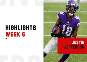 Every catch from Justin Jefferson's 2-TD game | Week 6