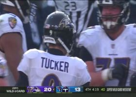 Justin Tucker drills 51-yard FG to extend Ravens' late lead