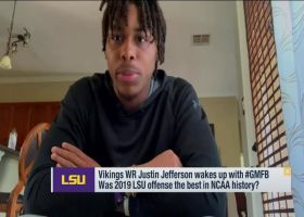 Justin Jefferson shares why he has extra motivation after draft