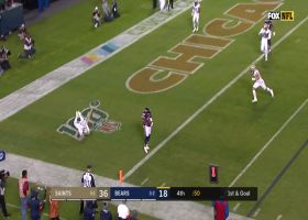 Javon Wims catches his first career TD