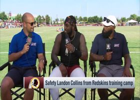 Washington Redskins safety Landon Collins on playing for Redskins: 'I'm honored to be here'
