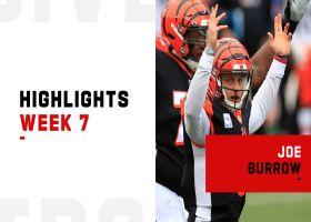 Joe Burrow's best plays from 4-TD game   Week 7