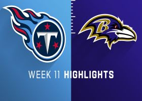 Titans vs. Ravens highlights | Week 11
