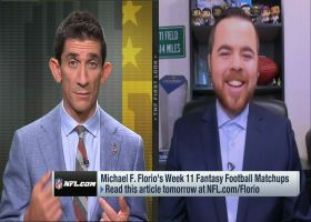 Michael F. Florio fantasy matchups to watch in Week 11