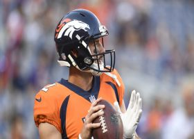 Denver Broncos wide receiver Emmanuel Sanders says a change of scenery will help Paxton Lynch