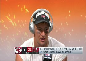 Gronk reflects on 'surreal' Super Bowl season with Bucs