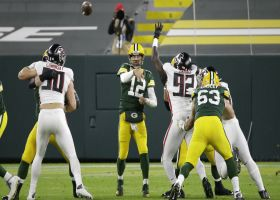 Rodgers fools Falcons with hard count on free play
