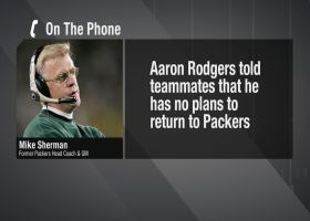 Mike Sherman: Why I don't see Packers trading Aaron Rodgers