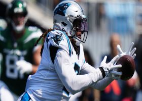 Shaq Thompson rips off MASSIVE return after tipping INT to himself