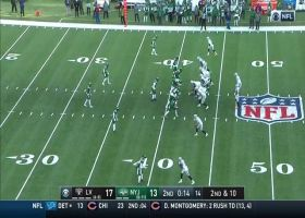 Jets push Raiders out of field-goal range with back-to-back sacks